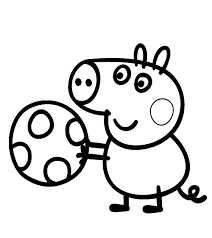 play computer peppa pig coloring pages 30734 bestofcoloring com