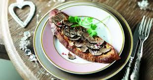 cuisiner truffe recette perdu à la truffe fraîche