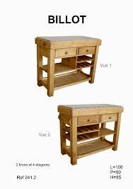 meuble billot cuisine billot de cuisine pin massif meubles cuisine pin massif pas cher