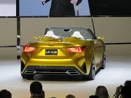 lexus yellow triangle light la auto show the lexus lf c2 concept