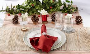 decorating your table for the holidays kate aspen blog