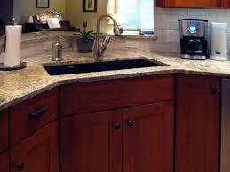 Corner Sink Kitchen Rug Appliances Furniture Best Corner Sink For Your Kitchen Ideas