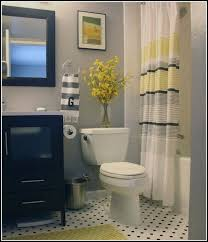 Yellow And White Shower Curtain Charming Yellow And Black Shower Curtain Photos Bathroom With