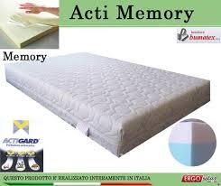 materasso 90x190 materasso memory mod acti memory da cm 90x190 195 200 antiacaro