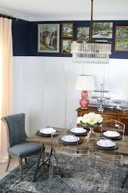 How To Paint A Dining Room Table by Remodelaholic How To Build A No Nails Console Table Layering