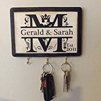 awesome wedding presents personalized wedding gift monogram key holder awesome