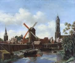 windmills aronson antiquairs of amsterdam delftware made in