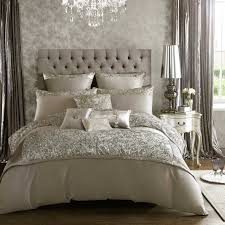 glamorous bedding fable beaumont silver linen at bedeck white and