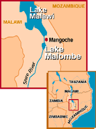 Malawi Map Fig 1 1 Map Of Malawi Showing The Position Of The Study Area Lake