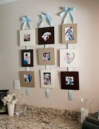 Picture Frame Hanging Ideas Best 25 Diy Picture Frames Collage Ideas On Pinterest Picture