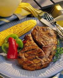 grilled honey soy pork steaks pork recipes pork be inspired