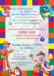 theme invitations best 25 candy land invitations ideas on candy