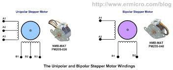 how to connect a stepper motor with exactly 4 wires to arduino
