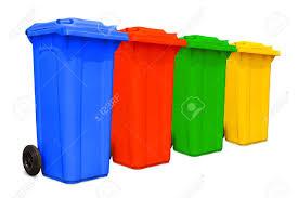 yellow recycle bin stock photos royalty free yellow recycle bin
