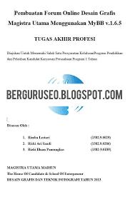 format penulisan makalah sederhana makalah sederhana bahasa indonesia yang benar