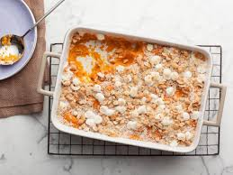 school sweet potato souffle recipe food network recipe the