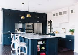 Jackson Kitchen Designs Navy Blue Kitchen Design Alexandra Lauren Interior Design