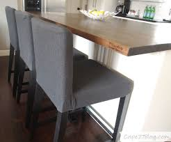 counter height chair slipcovers practicality wins cape 27