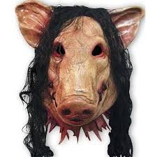 scary mask 2015 new saw 3 pig scary mask decorations and props adults