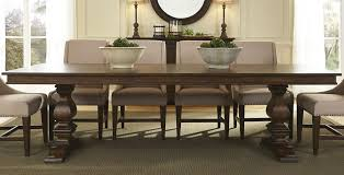Brownstone Bedroom Furniture by Armand Antique Brownstone Extendable Trestle Dining Table From