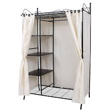 hapilife 3 in 1 wooden coat stand hanging clothes rail shoe