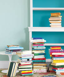 on a shelf ask real simple the best way to store books real simple