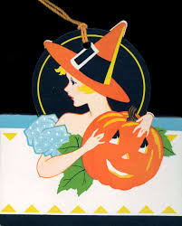 vintage halloween images clip art vintage clipart halloween witch and pumpkin