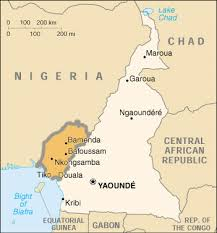 map of cameroon file southern cameroon map jpg wikimedia commons