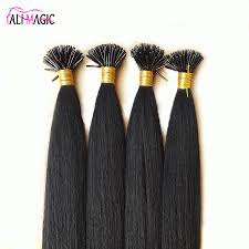 Pre Bonded Human Hair Extensions Uk by Best Unprocessed Keratin Glue Hair Extensions 20 22 24inch Nail