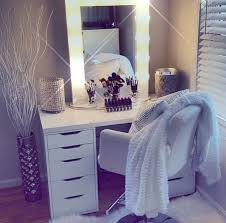 white vanity table with mirror diy vanity mirror with lights for bathroom and makeup station