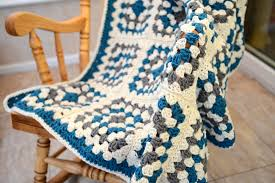 free pattern granny square afghan how to crochet a granny square blanket hobbycraft blog