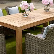 Teak Outdoor Dining Set Garden Dining Tables Rattan Garden Dining Furniture Josaelcom