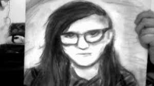 fail sketch skrillex by craypaseveryday on deviantart