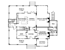 Double Master Bedroom Floor Plans by Double Hearth Cottage House Plan C0238 Design From Allison