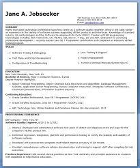 download customer quality engineer sample resume