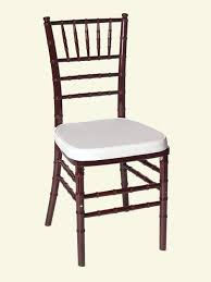 mahogany chiavari chair dover rent all tents events rental products