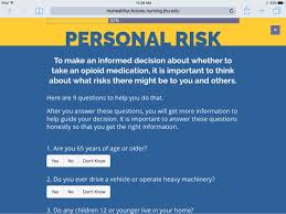 using m health tools to reduce the misuse of opioid pain relievers