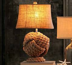 Nautical Table Lamps Table Lamp Rope Knot Table Lamp Base Nautical Floor Home Decor