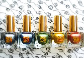mani monday estée lauder the metallics pure color vivid shine