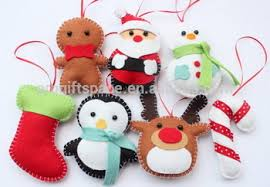 wholesale christmas decorations hot sale eco friendly handmade felt wholesale christmas