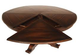 furniture round extendable dining table round expandable dining