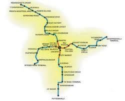 Bangalore Metro Map Phase 3 by Bangalore Metro Map Travel Map Vacations Travelsfinders Com