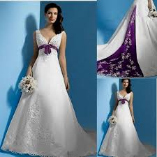 purple wedding dresses white and purple wedding dresses naf dresses