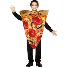 Walmart Halloween Costumes Toddler Pizza Slice Child Costume Size Walmart