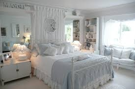 shabby chic curtains bedroom transitional with grey bedding