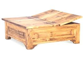 Wood Storage Ottoman Wood Coffee Tables With Storage Wood Coffee Tables Storage Large