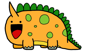 cute cartoon dinosaur pictures free download clip art free
