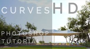 photoshop curves tutorial for 3d rendering architectural