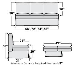 Jackknife Sofa Bed For Rv Monaco Rv Sleeper Sofa Bed Rv Furniture Shop4seats Com