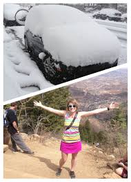 Colorado Weather Meme - the difference of five days in colorado weather colorado